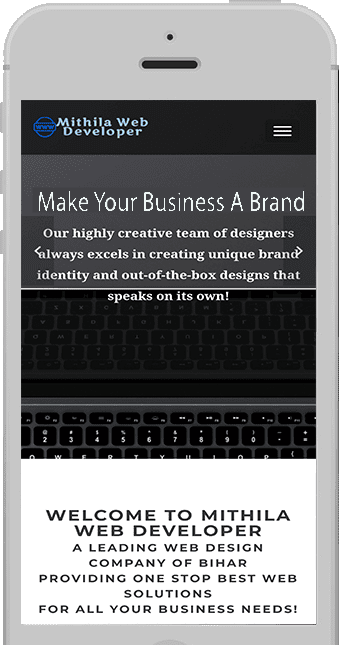 RESPONSIVE MOBILE WEBSITE DESIGNING